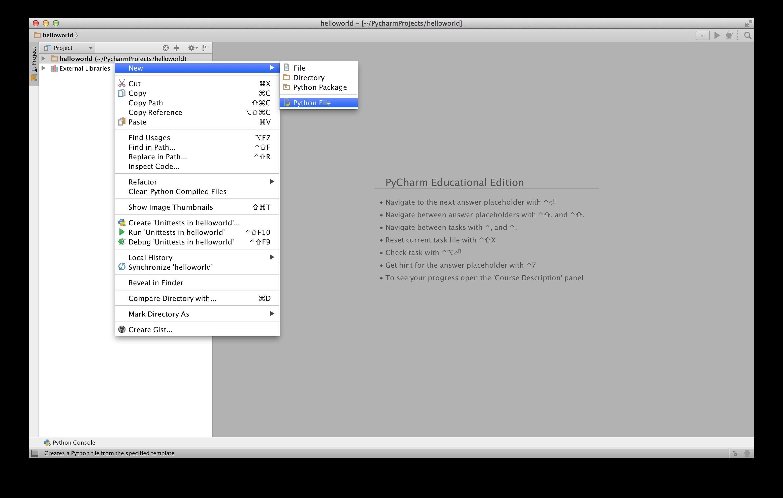 Pythontutorial basezhang pycharm new python file gamestrikefo Images